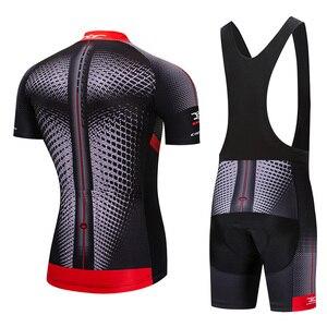 Image 3 - Crossrider 2020新ジャージセットmtb制服バイク服ロパciclismo自転車ウエア服メンズショートマイヨキュロット