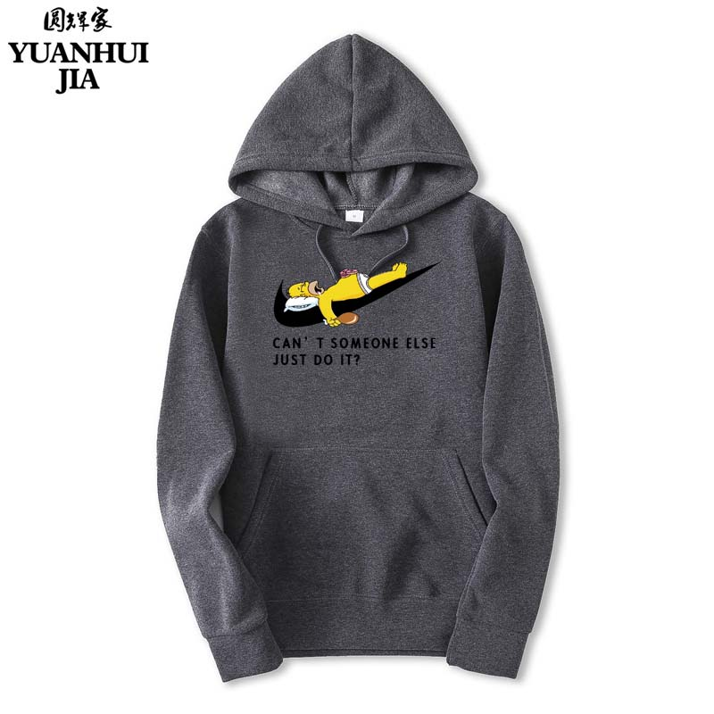 2017 New Letter Print Hoodies Mens Black And White Anime Hoodies autumn Skateboard Boy Skate Hoody Tops