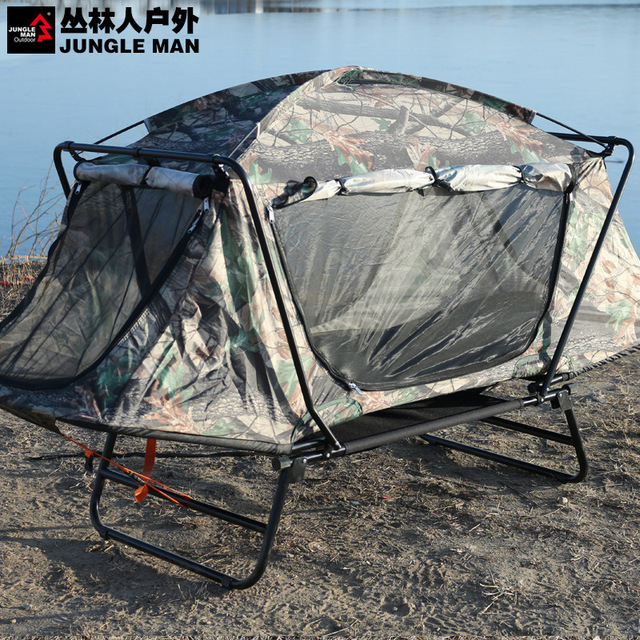 Free of building off ground tent outdoor fishing c&ing tent bed single c& cot T210 & Free of building off ground tent outdoor fishing camping tent bed ...