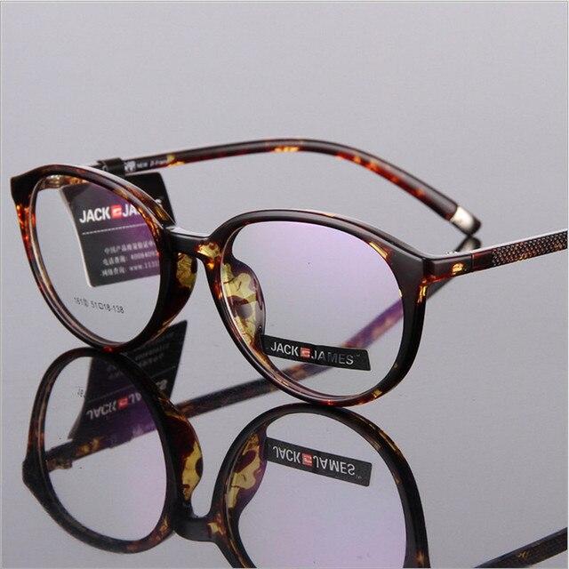 Новые мужские очки по рецепту моды равнине зеркало женщин очки кадров очки 161 ретро большие оправе кадров TR90