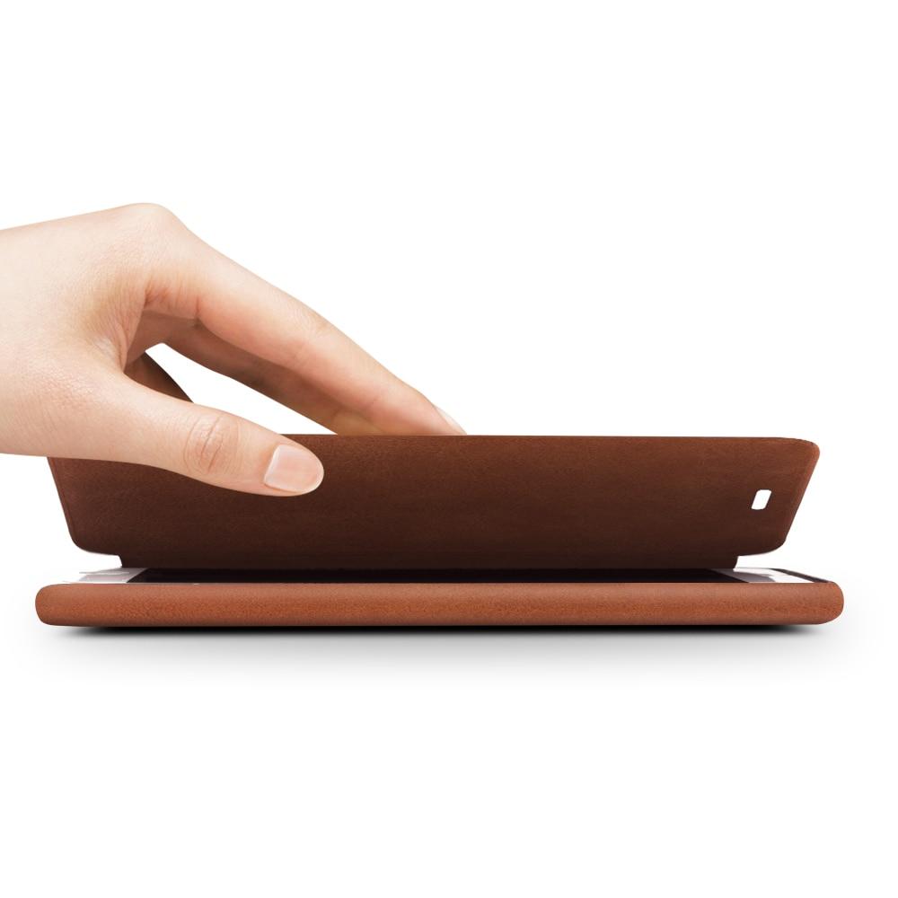 QIALINO Funda para iPhone 7 4.7 Funda de cuero con tapa abatible de - Accesorios y repuestos para celulares - foto 5