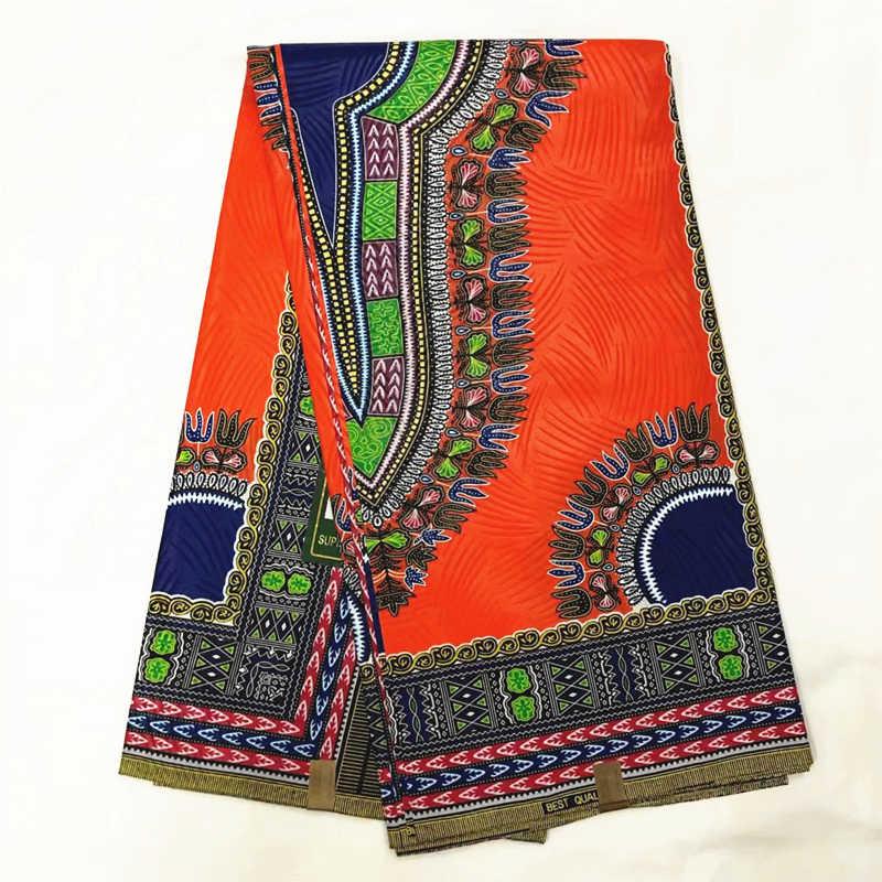 Ankara afrika balmumu baskı kumaş dashiki balmumu toptan afrika gerçek balmumu baskılar pamuklu kumaş parti elbise 6 yards