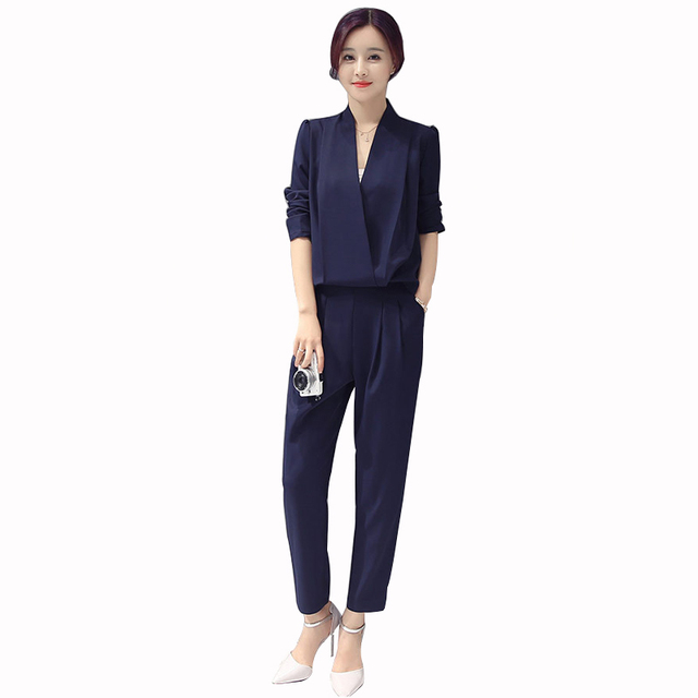 facb13d1afe MOBTRS Brand Jumpsuit Women Fashion Office Jumpsuits For Women Small Fresh  Jumpsuit Slim Women