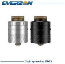 Оригинальный geekvape Медуза rdta ввиду испаритель электронная сигарета распылитель Капельного система заполнения сбоку воздуха