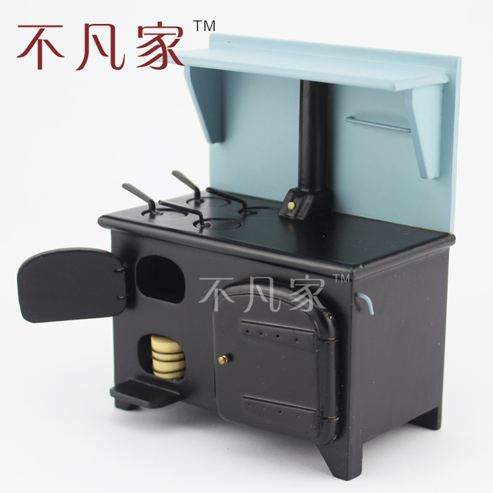 Dollhouse 1/12 Scale Miniature Kitchen Facilities Oven Stove