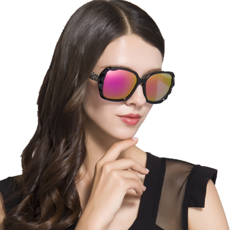 Hollywood Super Star Style Fashion New Sunglasses Women Big Frame Sun Glasses Quality UV Protection Sunglasses Elegant Ladies