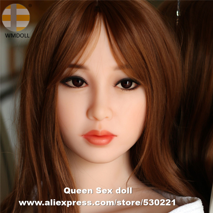 WMDOLL NEW Top quality realistic sex dolls head with oral sexy for silicone doll sex toys