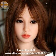 WMDOLL, новинка, высокое качество, реалистичные секс куклы, голова с оральной сексапильной для силиконовой куклы, секс игрушки для мужчин