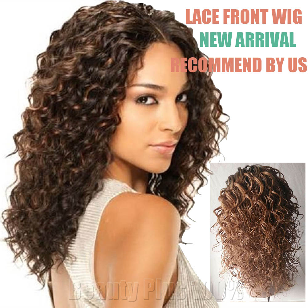 Brown Curly Wig Cheap 121