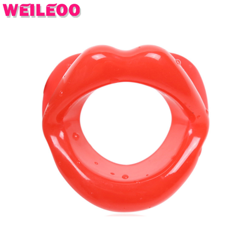 Buy lip shape open mouth gag ball slave bdsm sex toys couples fetish sex toys bdsm bondage restraints erotic toys adult games