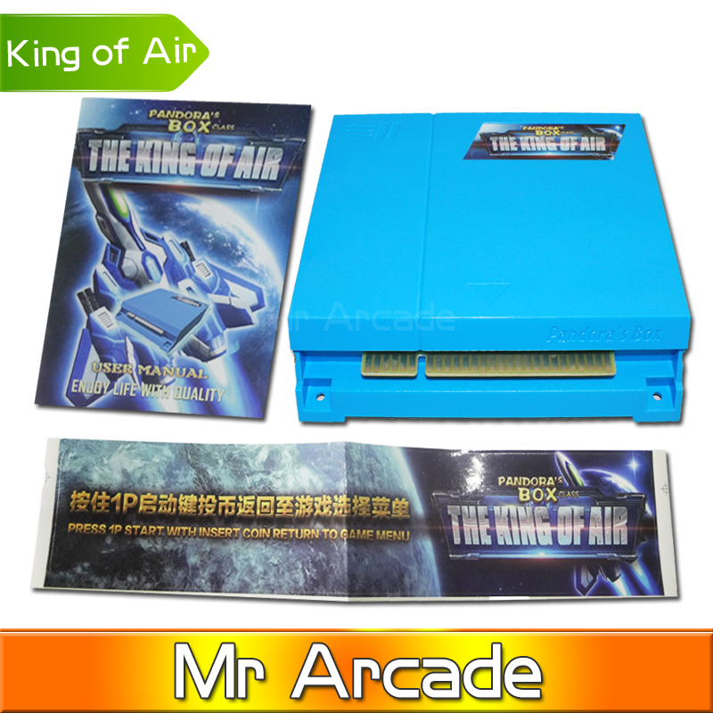 New Arrival 51 in 1 Pandora's box 3 -The King of Air Arcade Cabinet Game Board Multi Card Arcade Cartridge HD for VGA and CGA uwinka mc u6c multi in 1 water resistance shockproof memory card storage box red