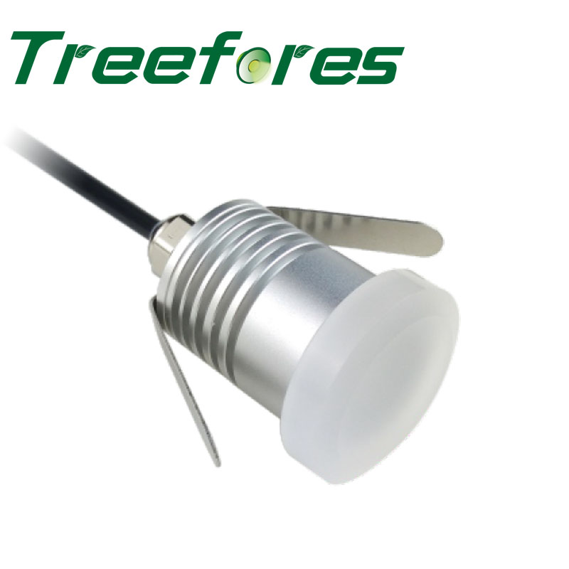 4PC 1W DC 12V 24V Led Downlight With Anti-Glare Cover Soft Moon Light IP67 Outdoor Lighting Lamp CE RoHS Ceiling Spot
