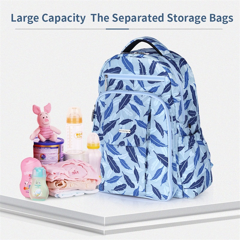 Mother Shoulder Nappy Bag Insular Diaper Bag Large Capacity Maternity 2pcs Mummy Diaper Backpack for Baby Bottle Travel Bags insular leisure backpack diaper bag large capacity mummy bag for mother baby care handbag s