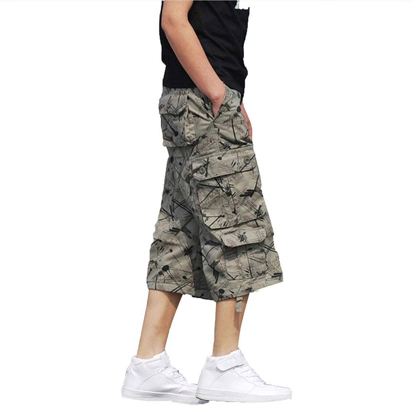 Vente Hommes Loose dark khaki Shorts 2018 De Army Cargo Lanbaosi light Hot Sergé Poches Fit Multi Mode Beige Green Courte Green Stretch I8tqxwwTp