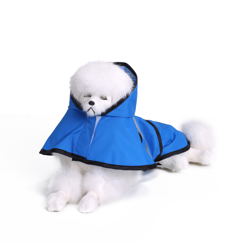 S/M/L/XL/XXL/XXXL Собака Щенок плащ Одежда Мода для животных дождливых дней дождевик большая собака плащ #013