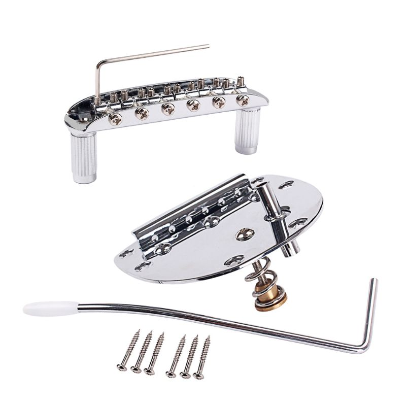 Guitar Tremolo System Bridge Tailpiece For JP Musta Jazzmast Jagu FD Mexico Electric Parts