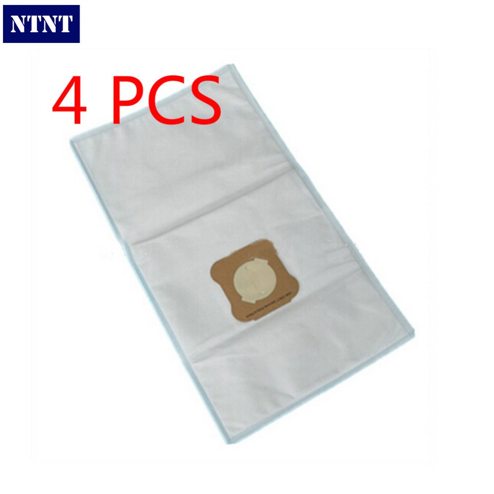 NTNT 4 PCS Fit for Kirby G4 G5 G6 Dust Bags Generation Microfibre Vacuum Cleaner Hoover non-wowen dust bag hepa filter dust bag 1 pcs for kirby sentrial f t dust bag for kirby universal bag suitable for kirby universal hepa cloth microfiber dust bags