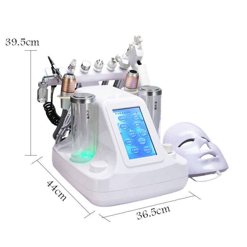 Image 5 - 11 in 1 Hydra Dermabrasion RF Bio lifting Microdermabrasion Facial Machine Water Oxygen Jet Hydro Diamond Peeling Beauty Machine-in Face Skin Care Tools from Beauty & Health