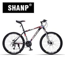 "SHANP Mountainbike Aluminium Rahmen 27 Geschwindigkeit Shimano Hydraulische/Mechanische 26 ""Rad"