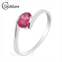 100% натурального ruby gemestone модный серебряное кольцо 925 Твердых Стерлингового Серебра рубин обручальное кольцо лучший подарок для девушки