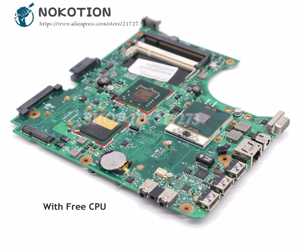 NOKOTION 538409-001 For HP Compaq 510 610 Laptop Motherboard DDR2 GM965 With Free CPU 100% Tested