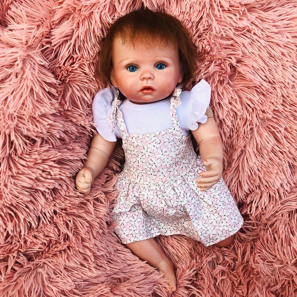 38 cm Mini taille Silicone Reborn bébé et rose sucette accessoires vivant poupée doux tissu corps mignon bambin vraies poupées enfants cadeau