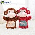 25 cm Mini Plush Kawaii Dos Desenhos Animados para Crianças Brinquedos para As Crianças Meninas Do Aniversário Do Bebê Presente de Natal Mão Fantoches de Dedo Boneca Metoo