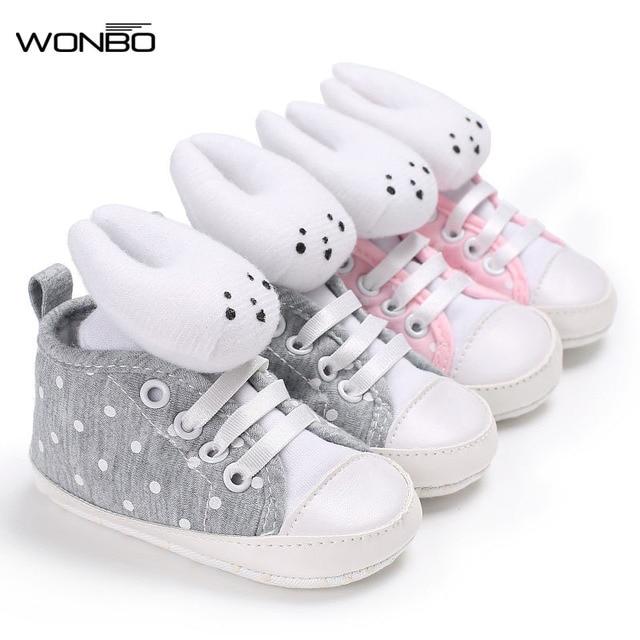 626c2ad62f343 Nouveau Bébé Chaussures Respirant Toile Chaussures 1-3 Ans Garçons  Chaussures 4 Couleur Confortable Filles