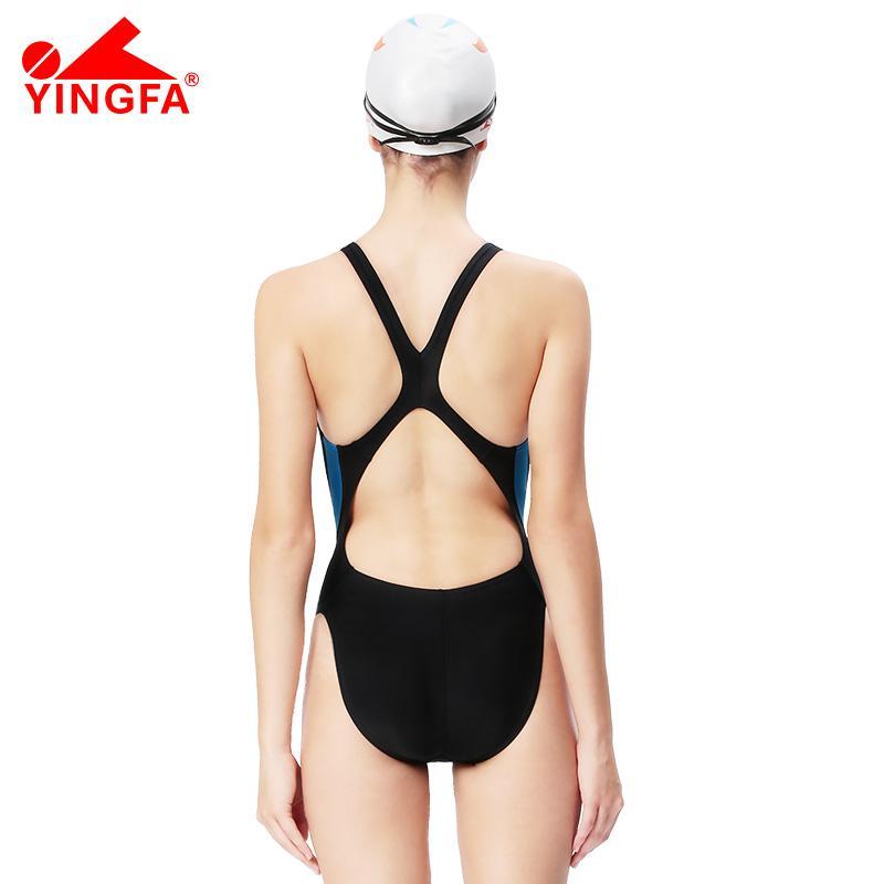 Yingfa One Parça Professional qız yarışları mayo uşaqlar - İdman geyimləri və aksesuarları - Fotoqrafiya 5