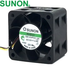 1 stücke GM1204PQV1-8A 12 v 2,8 watt 4 cm 4028 3-linie 1U 2U server fan 9200 rpm 14CFM(China)