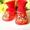 Mopopo Recién Nacido Bebé Botas Primeros Caminante Infantil de Invierno Botas Altas nuevo Estilo Chino Suave Caliente del Invierno Zapatos de Bebé Unisex Caliente venta