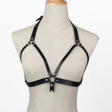 Naturel Leather Harness  Leather Harness Belt Leather Accessories Body Chain