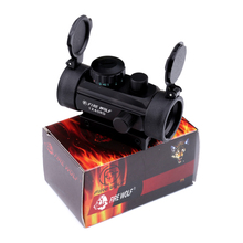 Fyzlicion Fire Wolf High-grade aluminum alloy 1x40 holographic spectroscope red green point optical sight adjustable rifle sight
