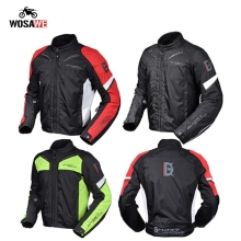 HOST RACING Motorcycle Protective Windproof Racing Jacket with 5 Armor thermal Vest Waterproof MTB Riding