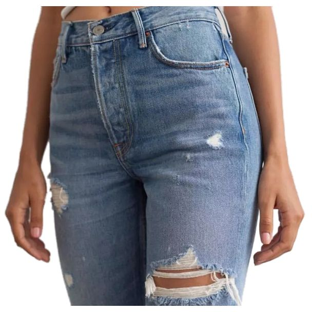 Women Petite Extreme Ripped Jeans Fashion Distressed Design Non ...