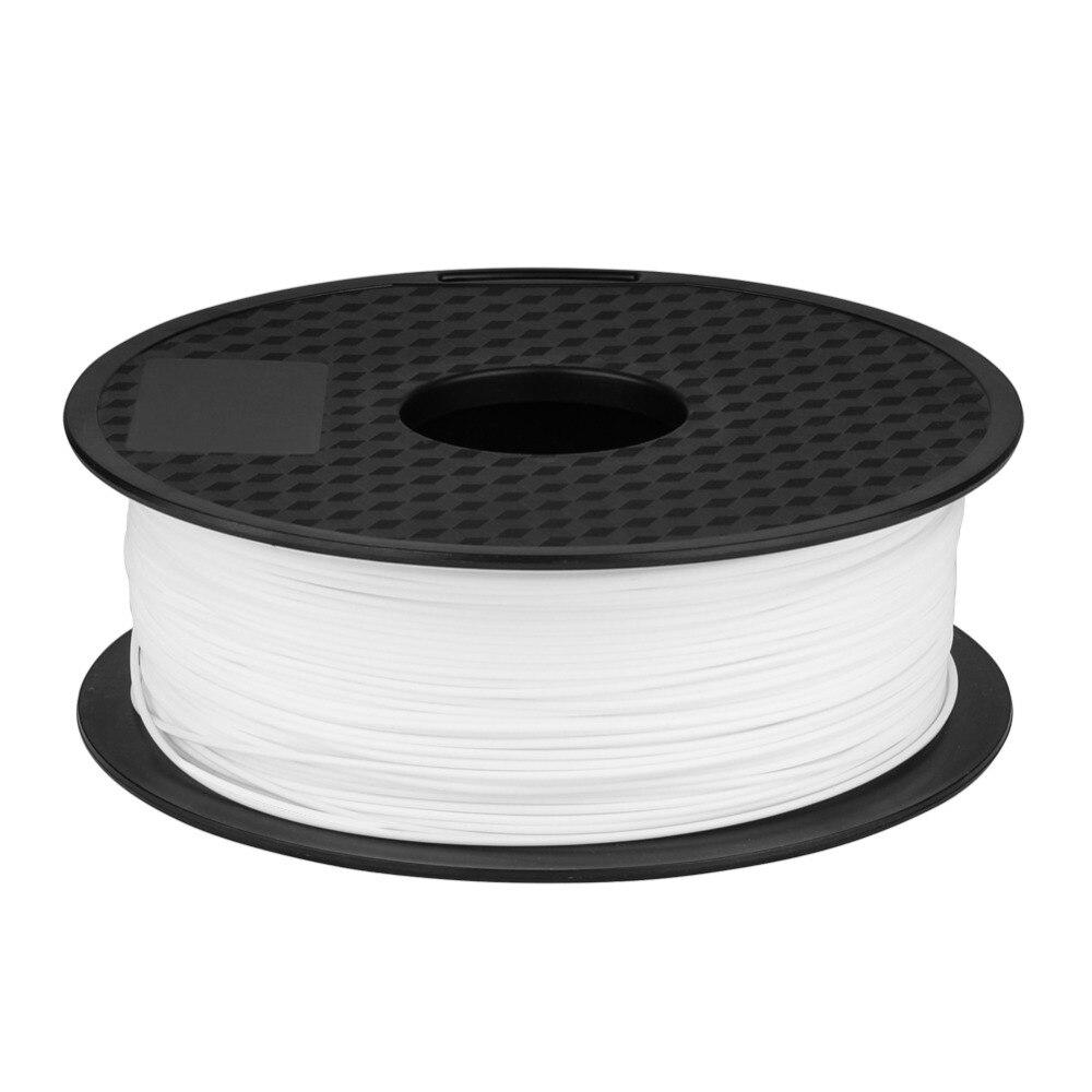 Ender White/Black 1KG/Roll 3D Printer Filament for Good Toughness