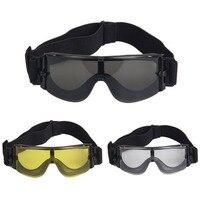 군사 고글 전술 안경 장난감 총 X800 선글라스 안경 고글 모터 안경 자전거 승마 눈 보호 뜨거운 판매
