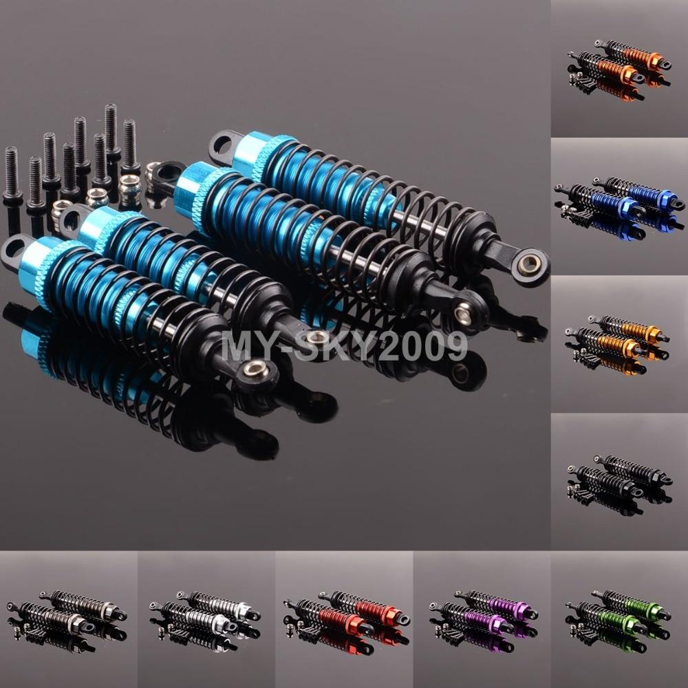 Front & Rear Shock Absorber 959-31 & 959-32 For 1:12 WLtoys L969 L979 L202 L212 L222 K959 L959 WL toys Racing rear absorber shock set for 1 5 losi 5ive t