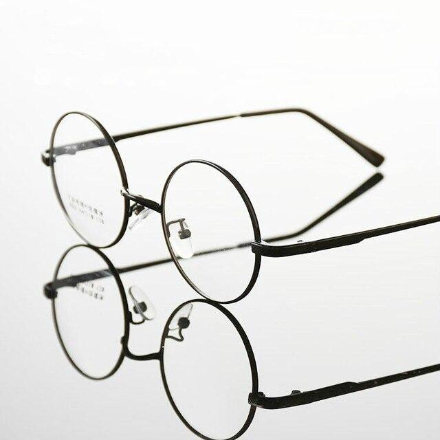 c114f7f6781 Fashion wizard Eyeglasses High-grade alloy Frame Men women round Eyeglasses Gold  Glasses Frames 4