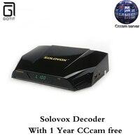Gotit Solovox V9S DVB-S2 HD Decoder Satellitare Recettore Supporto Multi-CAs WEBTV CCCAMD NEWCAMD Miracast IPTV Set top Box