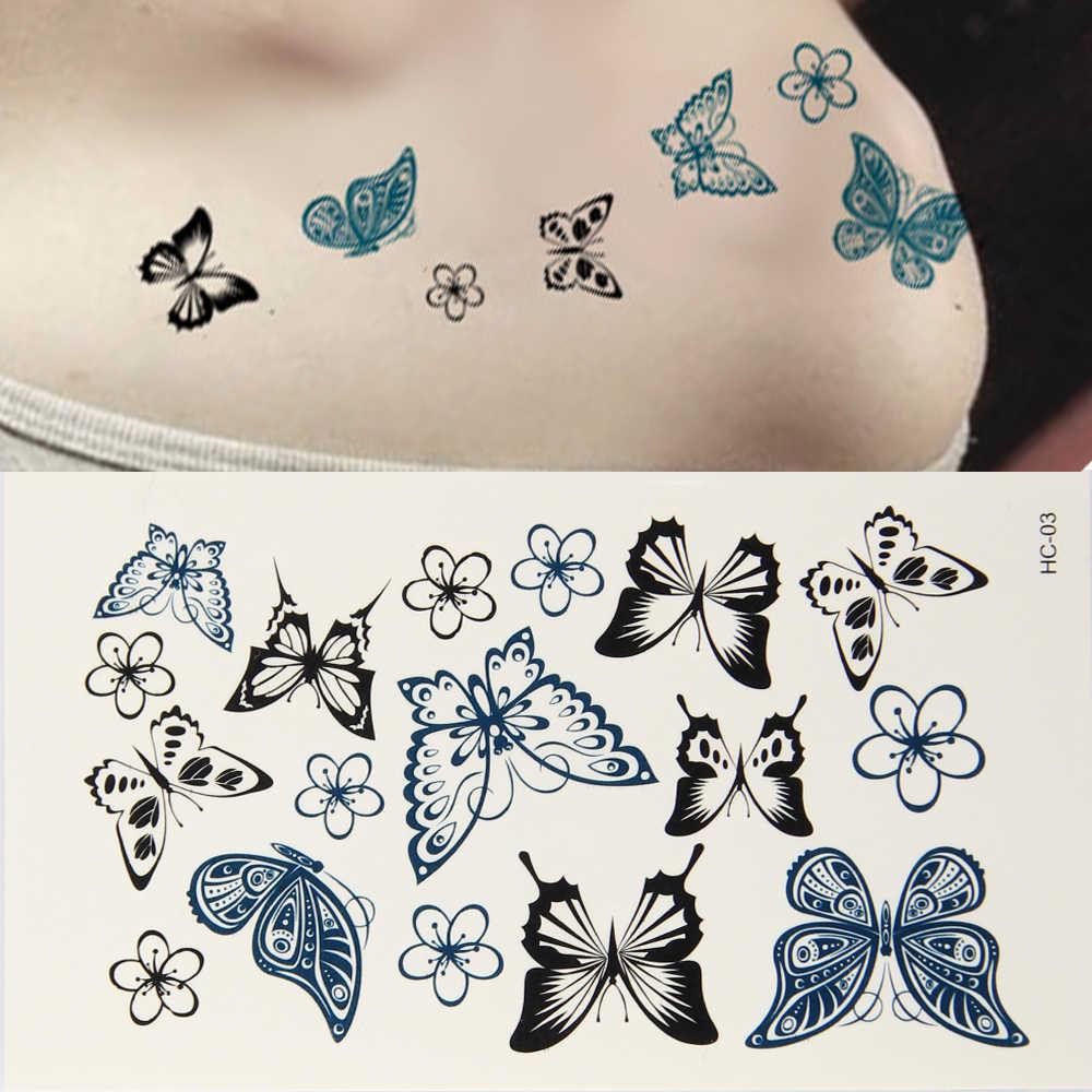 Detail Feedback Questions About 10pcs Butterfly Waterproof Body Art