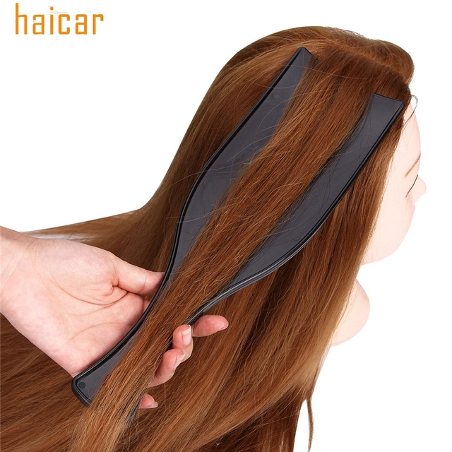 Drop Shipping Hair Styling Plastic Hair Dyeing Plate Wide Large ...