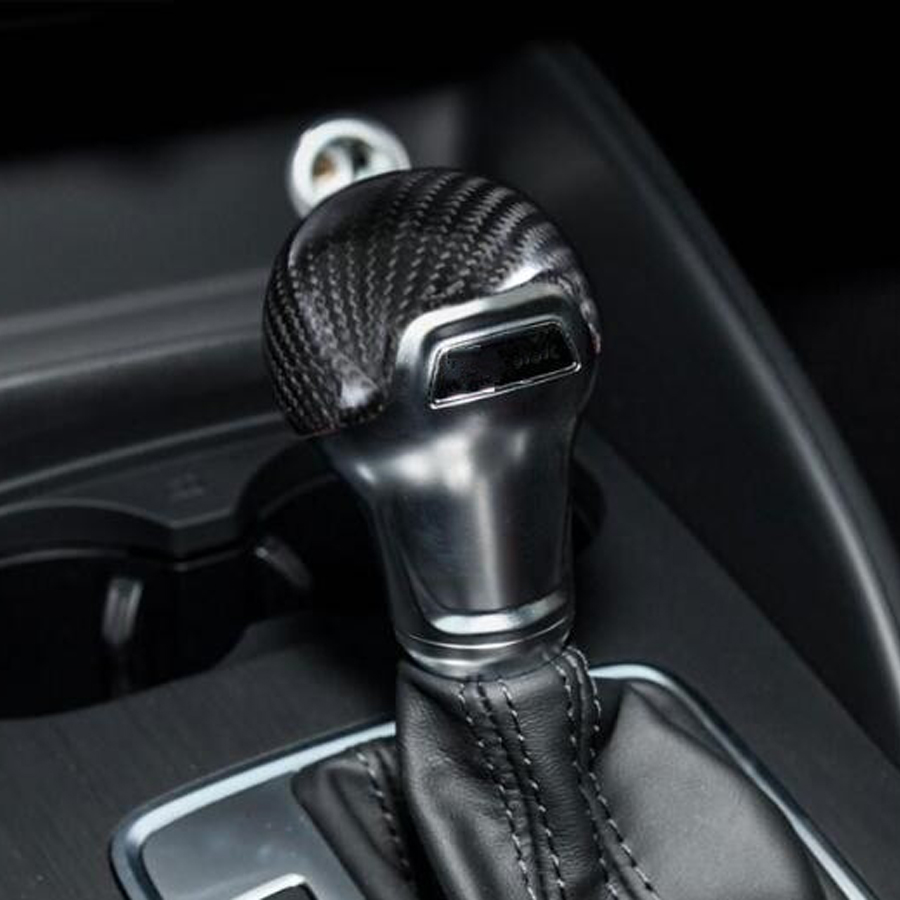 Auto Gear Shift Knob Stick Cover Decal Sticker For Audi A3 2014-2018 Car Accesorios Automovil Interior Car Styling Parts ABS gear shift