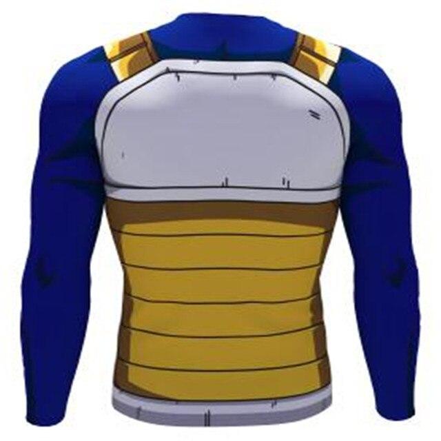 Dragon Ball Z Vegeta long T Shirts Women Men Anime Super Saiyan Goku/Majin Buu/Piccolo/Cell DBZ T shirt  3D Tees