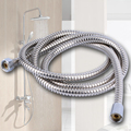 Enema tube Fitting 1.5m Stainless Steel Water Supply Hose Pipe 2 Plug for Faucets Anal Sex Toy Cleaning Kit Shower For Man/Woman