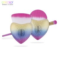 Docolor 3 PCS Makeup Brushes Set Foundation Powder Eyeshadow Brush Best Gift Face Make Up Brush
