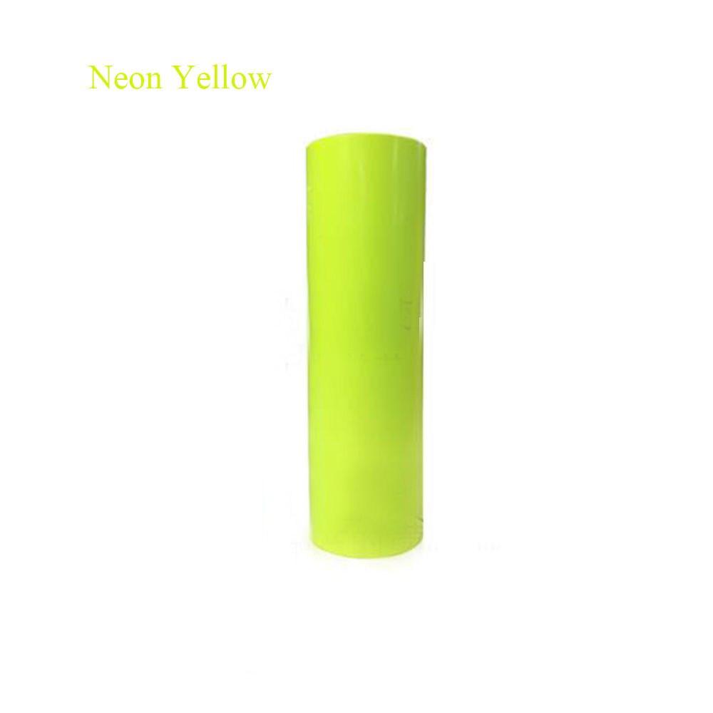 5 colors to choose Fluorescent Neon Flex  with T-shirt vinyl Heat Press Vinyl Transfer Paper one yard 51cmx100cm glitter heat transfer vinyl film heat press cut by cutting plotter diy t shirt 40 colors for choosing