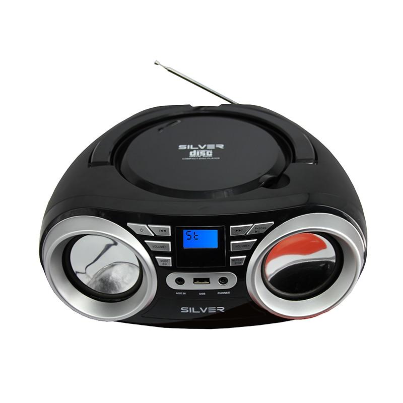 LONPOO Newest CD Speaker Bluetooth Speaker Multi media USB FM Radio Wireless Stereo Portable Speaker Home