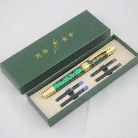 DIKAWEN авторучка полностью металлический золотой зажим роскошные ручки креативная ручка 0,5 мм Средний наконечник бизнес офисные школьные при...