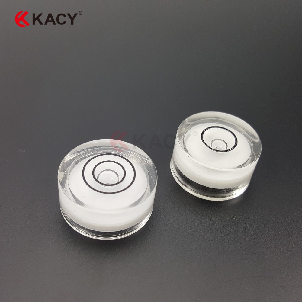 KACY 10pcs/lot 12x7mm Round Hand Tool Parts of Plastic Bubble ... for Spirit Level Parts  45hul